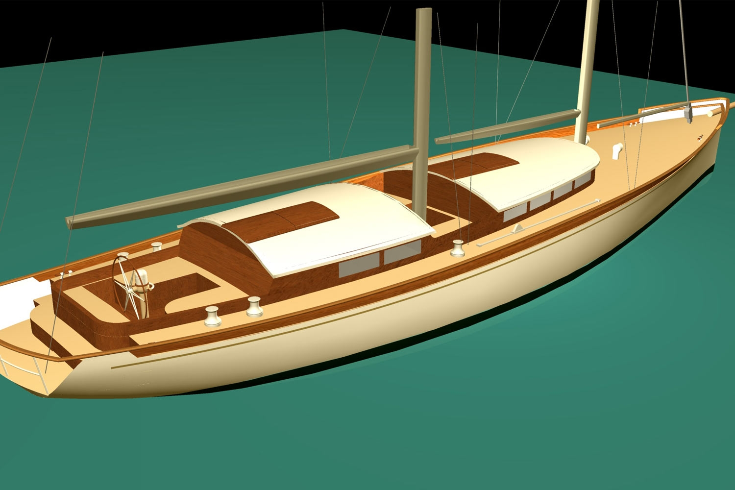 60' Expedition Schooner