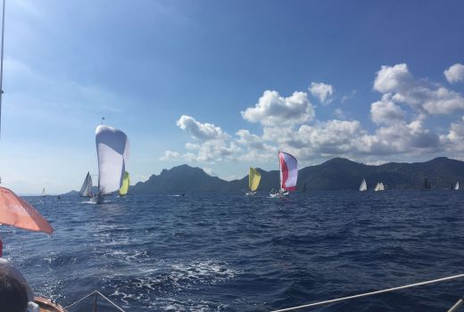 Fairlie racing at Cannes