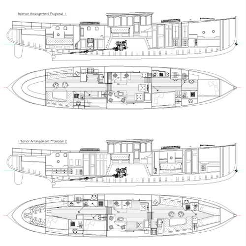 Classic Motor Yacht Plans